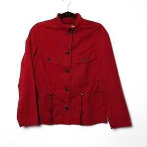Gap | Cherry Lightweight Fitted Unlined Blazer XS